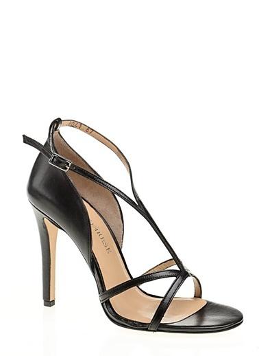 D by Divarese Yüksek Topuklu Ayakkabı Siyah
